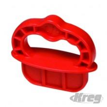 """Deckspacer Deckspacer 1/4"""" Red"""