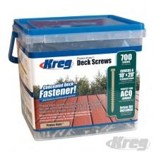 "Deck Screws Protec-Kote™ Pan Head - Coarse Thread No 8 x 2"" 700pk"
