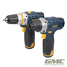 12V Drill & Impact Driver Twin Pack GTPDDID12