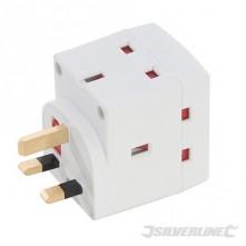 3-Way Socket Adaptor - 13A 240V