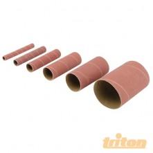 Aluminium Oxide Sanding Sleeves 6pce TSS80G Aluminium Oxide Sanding Sleeves 6pce