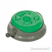 8-Pattern Dial Sprinkler - 140mm Dia