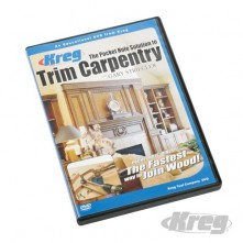 Kreg DIY DVDs Trim Carpentry