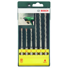 Bosch 6 piece SDS-Plus S2 hammer drill bit set